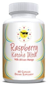 Raspberry Ketone Ultra Bottle from Sunshine Nutraceuticals