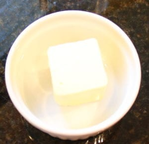 1/4 cup butter